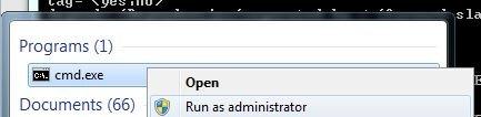 Screenshot - Opening a Command Line