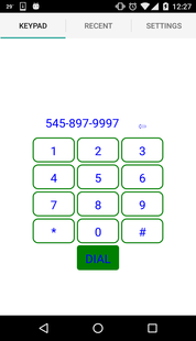 Mobile Elements - Dialing A Number