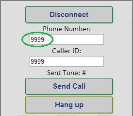 WebRTC Demo - Send Call