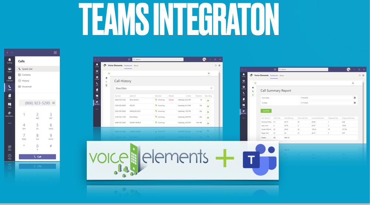 Voice Elements MS Teams Integration