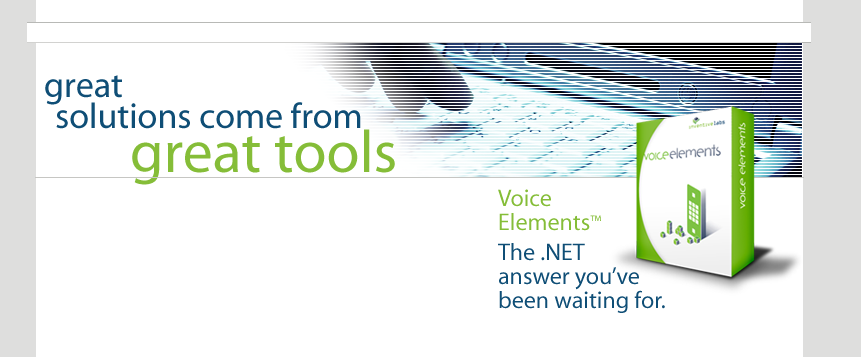 Voice Elements - Great Solutions Come From Great Tools